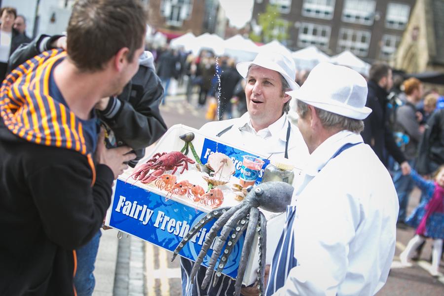 Fairly fresh fish co larger than life for Fresh fish company